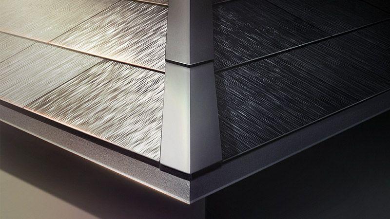 Solar Roof Flashing Hip Cap