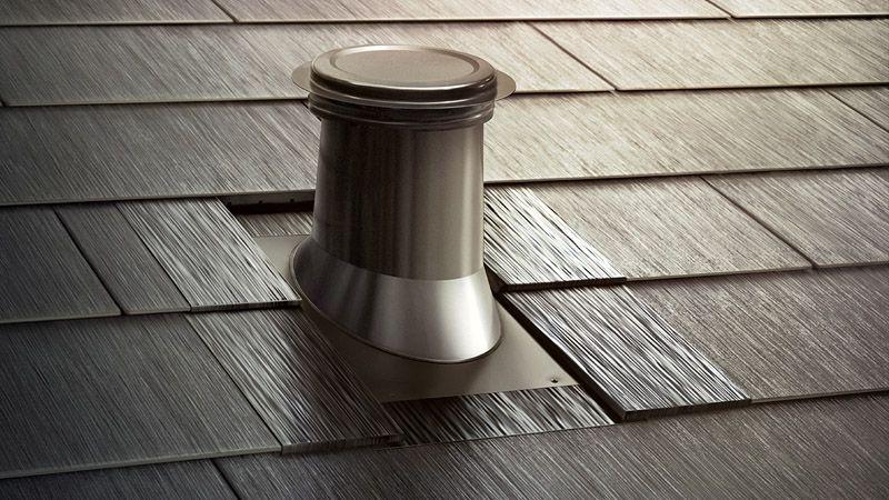 Solar Roof Flashing Vent